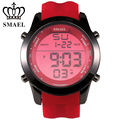 SMAEL Red Sport Watches LED Digital Watch Male Clock Top Brand Fashion Digital-watch relogio masculino Best Men Gifts WS1076