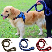 Strong Nylon Dog Leash Rope For Big Large Dog Lead Leashes Walking Durable Nylon Samll Dogs Pet Harness Collar Traction Rope