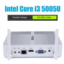 Core i3 5005U Mini PC 4K Ultra HD 3D Blu Ray Mini PC Windows 10 8GB RAM USB 3.0 Minipc Linux Fanless Core i3 6100U mini pc DDR4L