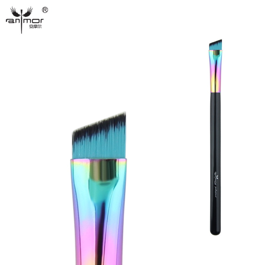 Anmor Angled Eyeliner/brow Brush Synthetic Makeup Brushes Professional Make Up Tools CFCA-A24 make up factory automatic eyeliner 24 цвет 24 smokey plum variant hex name 474995