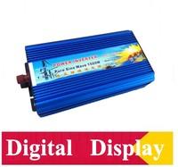 1500w Pure Sine Wave Solar Inverter CE ROHS Approved Dc 12v To Ac 220v 50HZ Car