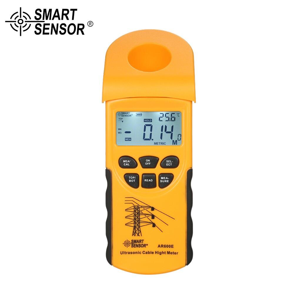 Numérique LCD Câble Ultrasons Hauteur Compteur De Poche Hauteur Câble Testeur De Mesure la Hauteur de Câbles Aériens 3-23 m