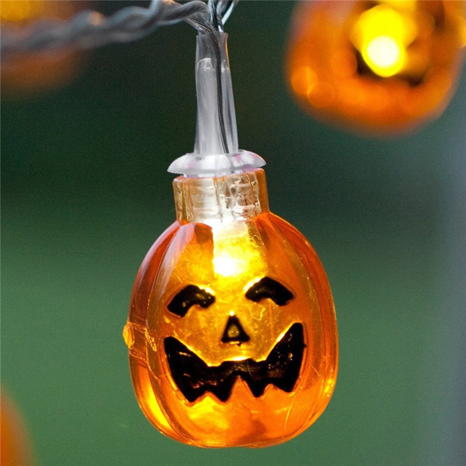 Halloween Props Diy Led String Light Decoration Aa Battery Operated