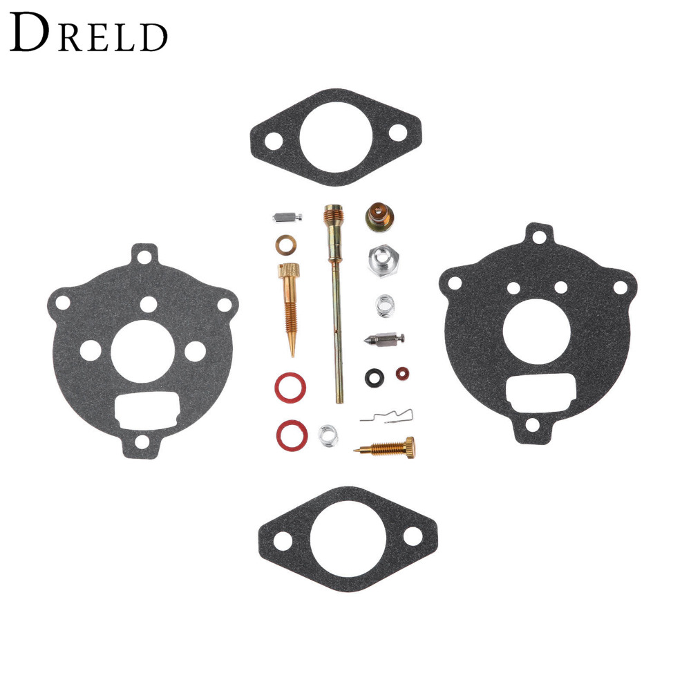DRELD Replacement Carburetor Repair Kit Carb Rebuild Tool for Briggs & Stratton 394693 291763 295938 Lawn Mower Parts 10pcs chainsaw repair tool parts carburetor metering diaphragm assembly for grass cutter replaces tools mayitr