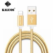 KALUOS 20 СМ 1 М 1.5 М MFI 8pin Быстрая Зарядка USB Синхронизации Данных Кабель Для iPhone 5 5S 6 6 S Плюс iPad 4 мини 2 3 Воздуха 2 IOS9 Зарядное Устройство провода