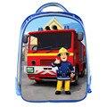 Fireman Sam Niños Bolsos de Escuela de Dibujos Animados Imprime Brave New Rescata Favoritos de Los Niños Estudiantes de Kindergarten Mochila Kids Bolsa