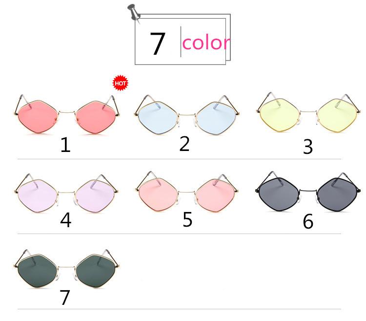 HTB1RoVPSpXXXXaBXXXXq6xXFXXXp - Rhombus Metal Framed Sunglasses Retro Small Size Lens PTC 223