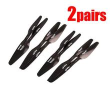 2pairs RCTIMER 1240 12*4 inch Propeller TM1240 Full carbon fiber Propellers CW CCW Props for RC Drone kvadrokopter multicopter
