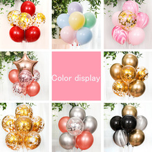 Plastic Balloon Stick  birthday party decorations adult column base DIY Metallic Confetti Balloons combination wedding