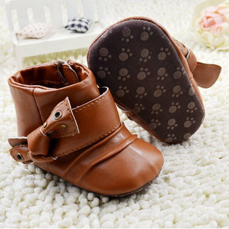 Mother & Kids Practical Comfortable Princess Baby Party Dance Shoes Round Bling Soft Sole Infant Crib Shoes Bowknot Newborn Baby Girl Shoes Size 0-18 M Goods Of Every Description Are Available