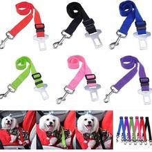 Pet Travel car seat belt Adjustable Harness  Prevent breakaway Safety Auto Supplies Accessories 1PCS