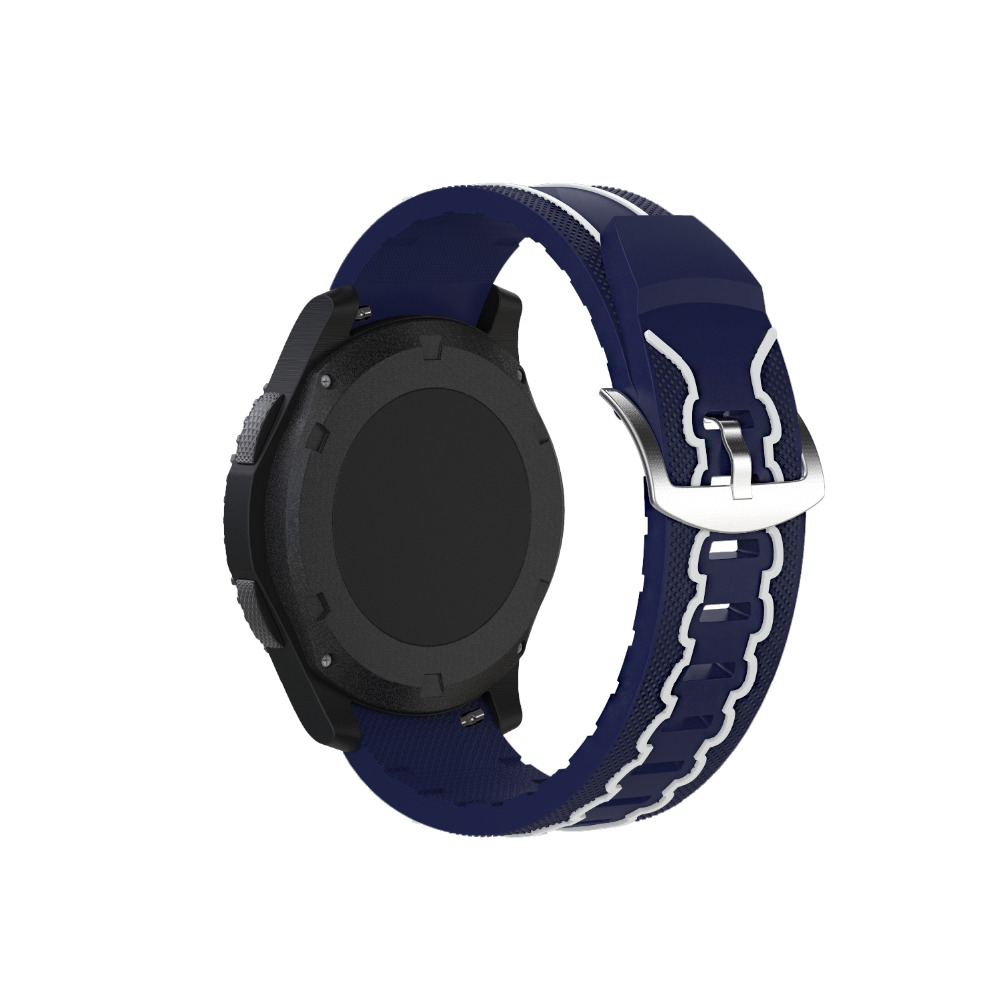 OSRUI Silicone Sport Watch Strap for Samsung Gear S3 Frontier Classic Replacement Band Wrist watchband Bracelet Accessories in Watchbands from Watches