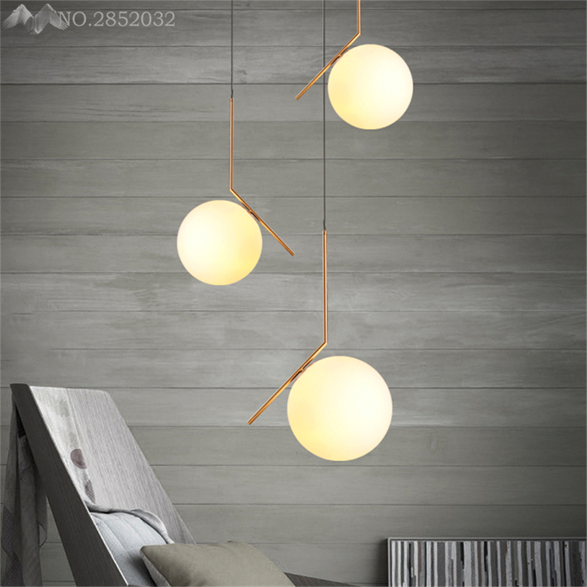 Modern Pendant Lamp Glass Globe Ball Pendant Lights lighting Personality Led Indoor kitchen dinning Decor Hanging Light FixturesModern Pendant Lamp Glass Globe Ball Pendant Lights lighting Personality Led Indoor kitchen dinning Decor Hanging Light Fixtures