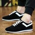 Nueva Llegada con cordones de Bajo Estilo zapatos de Los Hombres Zapatos Casuales Para Hombre Otoño Invierno Ocio Juvenil de Moda Pisos de Gamuza Masculina zapatos