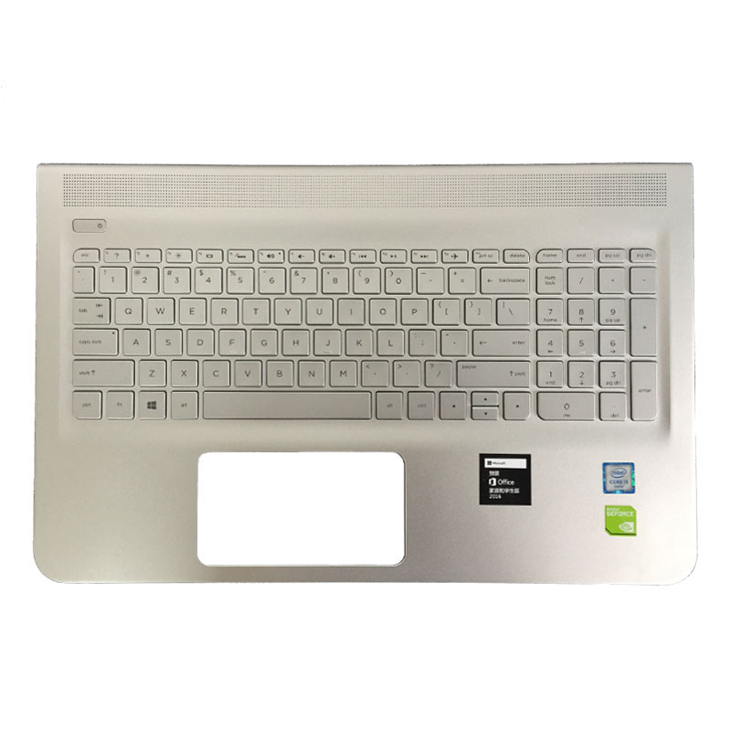NEW US for HP ENVY 15-ae000 15-ae015TX 15-ae016TX 15-ae020TX 15-ae018TX English silver laptop keyboard With backlight laptop keyboard for hp for envy 15 ae054na 15 ae058na 15 ae060nz 15 ae061nz 15 ae065na france fr 812692 051