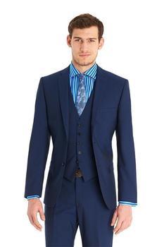 Handsome 2015 dark blue custom made wedding suits for men Groom / Groomsmen Tuxedos mens wedding suits (Jacket+Pant+Vest+Tie)