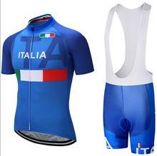 2019 итальянские майки для велоспорта, командная одежда, гелевые шорты, велосипедные Джерси, мужские быстросохнущие велосипедные шорты, летние спортивные майки для велоспорта