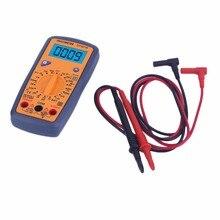DT321B Multímetro Digital Portátil multímetro AC/DC Voltage Meter Azul luz de Fondo de Apoyo de Prueba de La Batería 2017 Venta Superior
