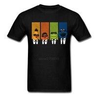 Oversize Customized Men T Shirt Reservoir Muppets Clothing 100 Cotton Short Sleeve T Shirt Men XS