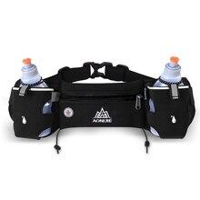 AONIJIE Men Women Running Waist Pack Outdoor Sports Hiking Racing Gym Fitness Lightweight Hydration Belt Water Bottle Hip Bag