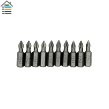 10pc PH1 Hex Magnetic Electric Screwdriver Bit Anti Slip Phillips Set Length 25mm Power Tool Accessories