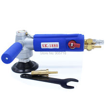 SK-1880 Water-fed Type 3 inch Professional Pneumatic Water Sander Air Wet Sander / Polisher Angle Grinder| Tool