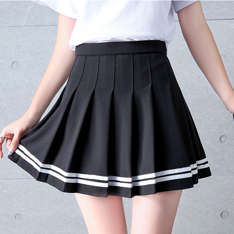 Falda de animadora estilo sailor en diferentes colores 6