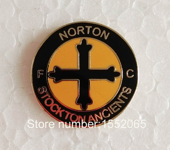Custom FC Soccer Lapel Pin Badge NORTON STOCKTON ANCIENTS FC Soccer Lapel Pin Badge
