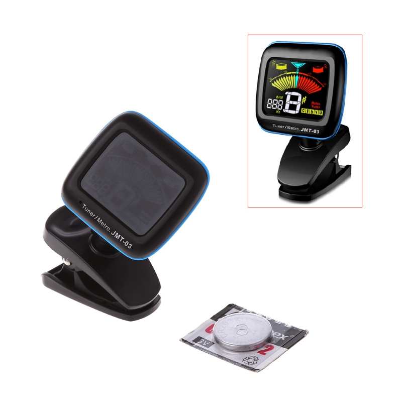 Guitar Tuner Bass Violin Ukulele Tuner Color Screen Metronome Clip Digital Tuner Accessories