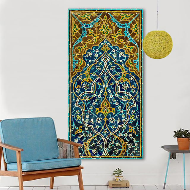 HDARTISAN Wandkunst Mosaik Bild Leinwand Ölgemälde Wohnkultur ...