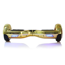 Chrome Gold hoverboard, 700W powerfull motor, Lithium battery, bag and key