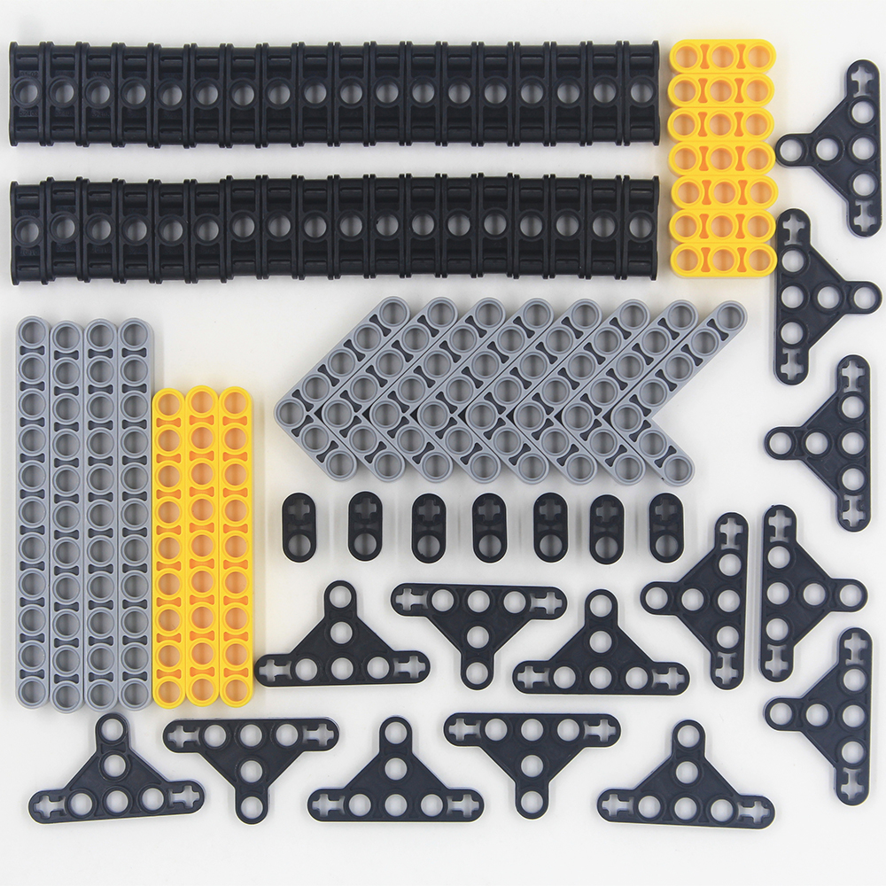 New 79pcs Model Building Blocks Toy Boy Parts Technic Building Bricks Children Toys Studless Beams Frams Compatible With Lego