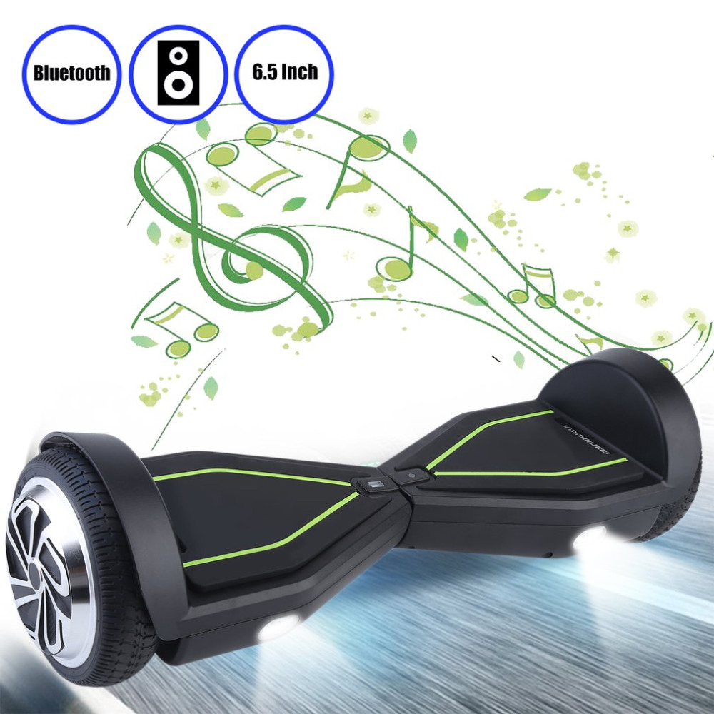 цена на Self Balance Scooters K8 6.5 Inch patinete electrico HoverBoard Smart Electric Scooter Balancing Skateboard Support Bluetooth