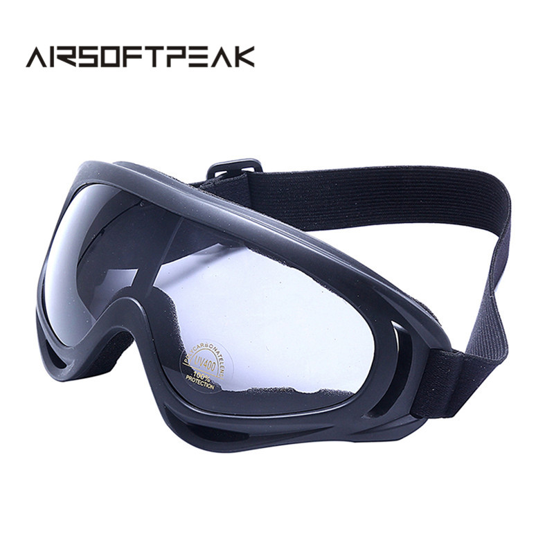 Airsoft UV400 Tactical Goggles Airsoftsports Cycling Glasses Men's Glasses Bicycle Outdoor Sports Hunting Hiking Eyewear outdoor sports safety glasses anti impact work protective airsoft goggles cycling eyewear 2103