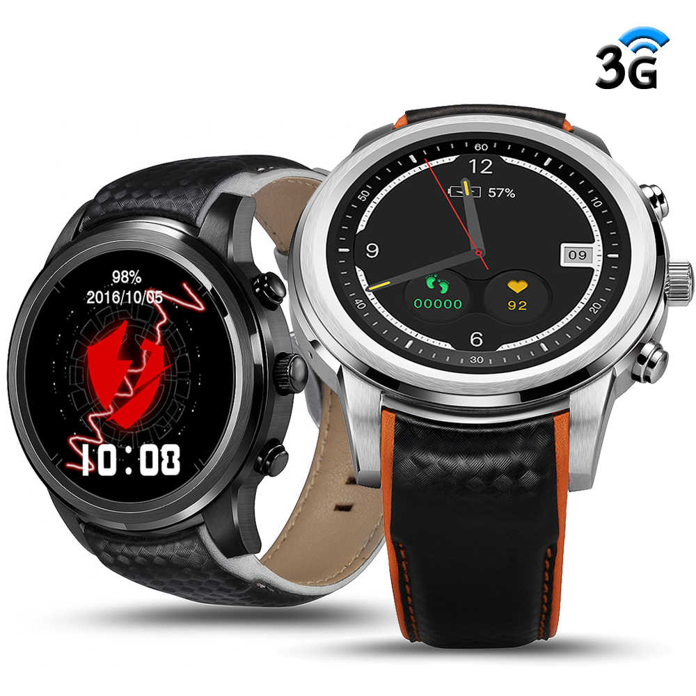 Finow X5 Smart Watch Ram 2GB/Rom 16GB MTK6580 Smart Wearable Devices Bluetooth GPS Watchphone 3G Smartwatch for iOS Android 5.1