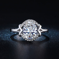 women Engagement Ring drop shipping Rings jewellery wholesale us size 6 7 8 paved cz zircon jewelry new fashion for women