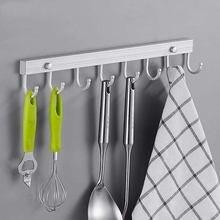 Космический алюминиевый крючок для кухни ванной комнаты кухонная