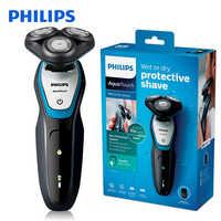 Philips Elektrische Rasierer Waschbar S5070 mit ComfortCut Klinge System Aquatouch 40min Cordless Verwenden/1 h Ladung für Männer der Rasiermesser
