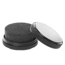 1 шт. KLV Quick Shine Shoes губка щетка полировальный воск очиститель пыли чистящий бесцветный набор для ухода за обувью