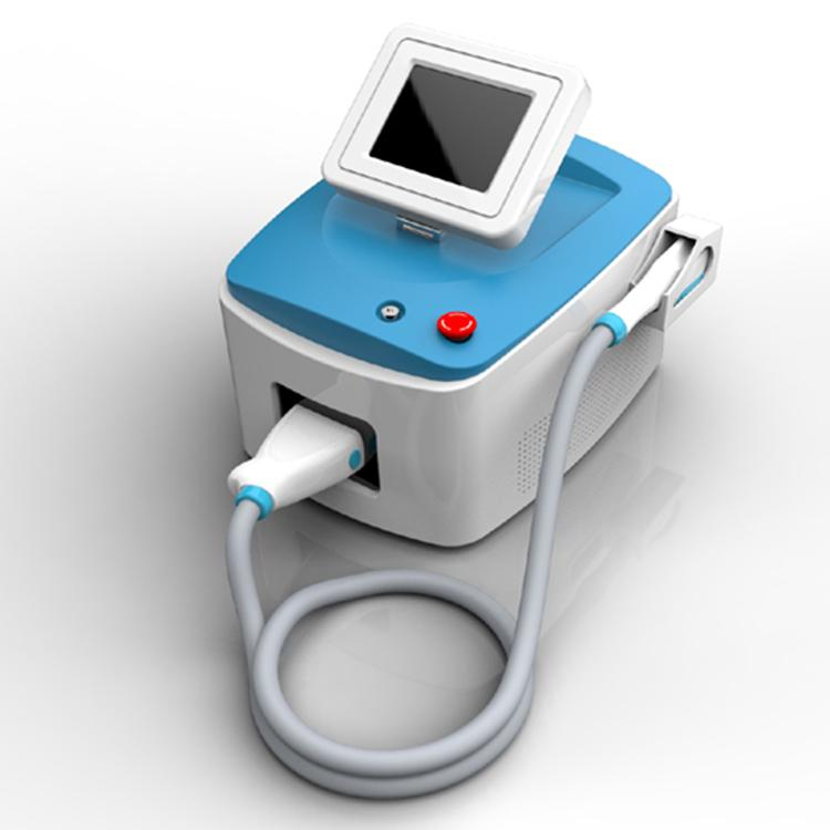 Vertical Machine Painfree Permanent Hair Removal Radio Skin Treatment Pigment Acne Therapy Beauty Equipment Ce/Dhl