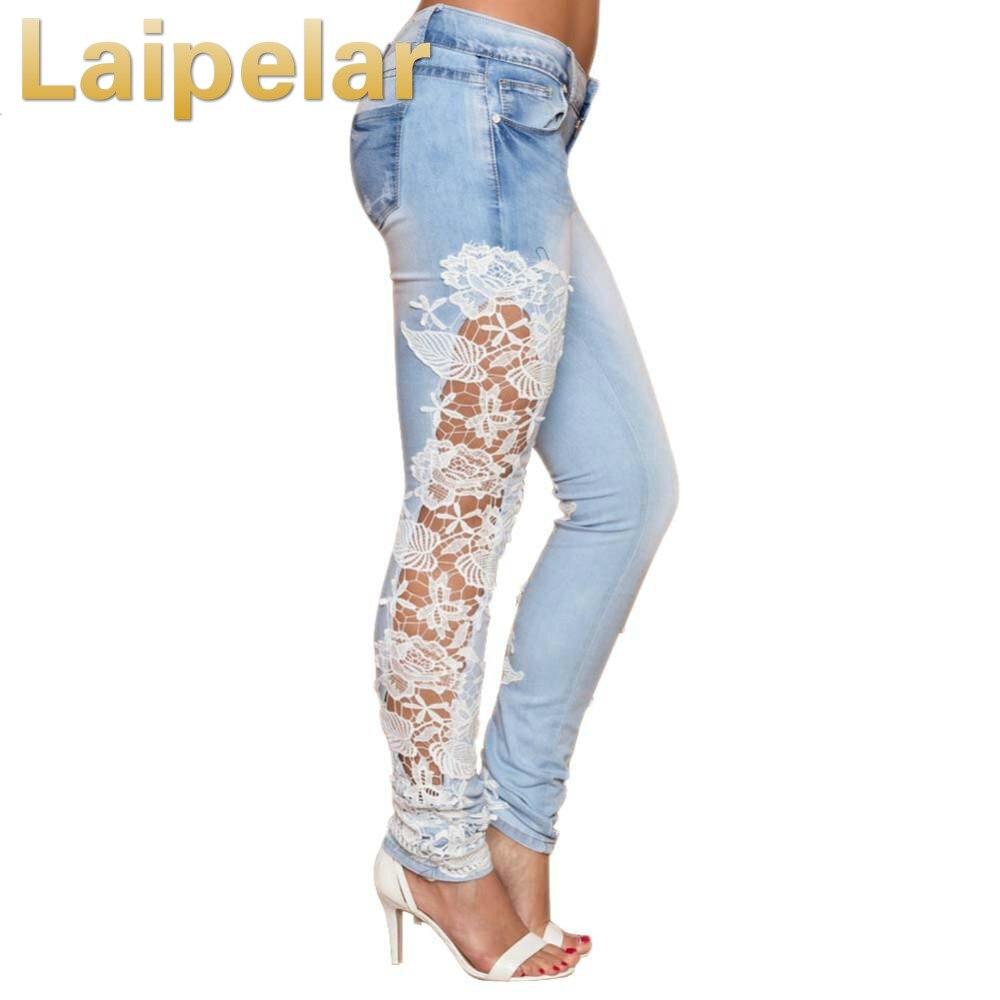 Side Lace Jeans 2