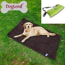 Free shipping Pet Dog Bed Outdoor Portable Blanket Medium Large Dog Travel Blanket
