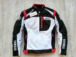 Motorcycle Sports Textile Summer Mesh Blue Red Riding Jacket for YAMAHA Racing Sportswear Motorbike Clothing