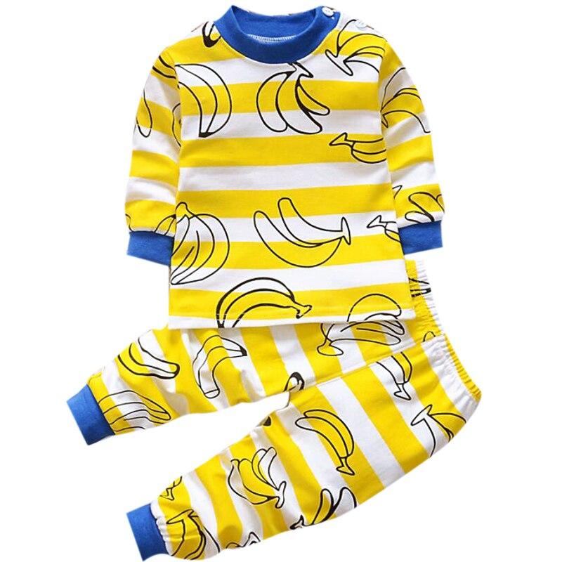 f5e9533145c3c Pyjama enfant combinaison d'hiver pour la fille garçon vêtements infantile  bébé garçon survêtement vêtements de couchage bambin vêtements de maison 1  2 3 ...