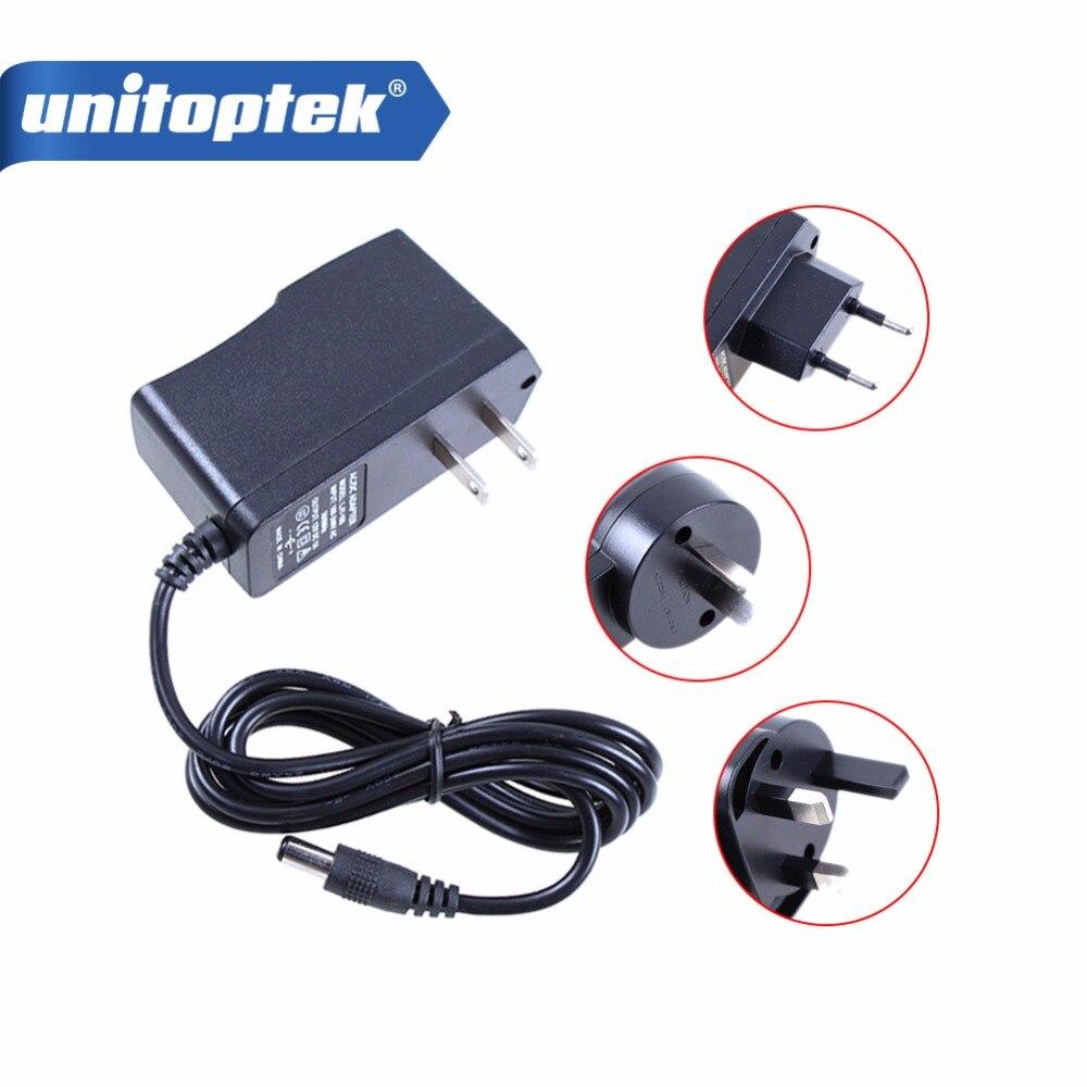 Qualified AC 110-240V To DC 12V 1A Power Supply Adapter For CCTV,EU/US/UK/AU Plug