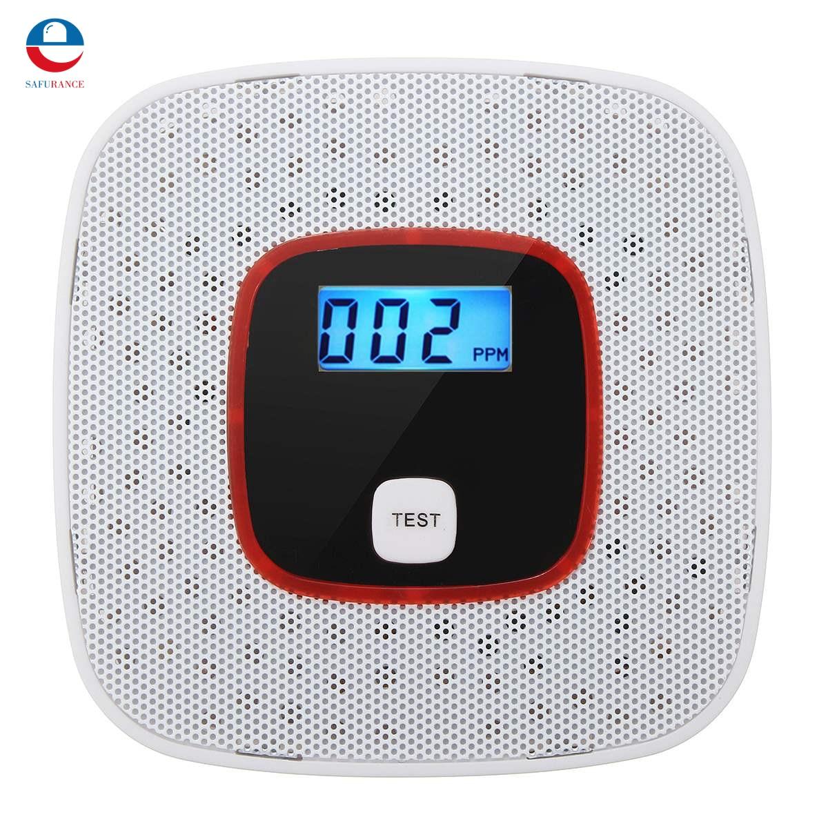 Voice Warning LCD CO Carbon Monoxide Tester Poisoning Sensor Alarm Detector co carbon alarm sensor warning monoxide poisoning smoke gas detector tester