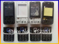 Black&Silvery/Blue New Original Complete Full Housing Cover Case + Buttons + Keypads for Nokia N81, with logo