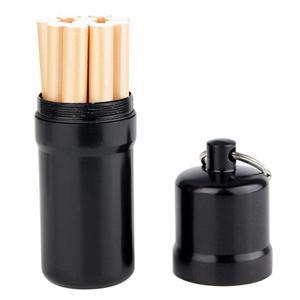 Stainless Steel Waterproof Metal Cigarette Case 10 Cigarettes Holder Box Cigarette Storage Bins For Cigarette Moisture-proof(China)