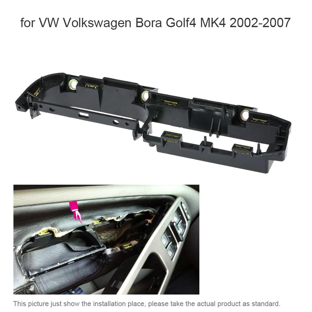 car interior front left door grab handle cover trim panel bracket for vw volkswagen bora golf4. Black Bedroom Furniture Sets. Home Design Ideas