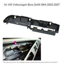 Интерьер автомобиля передней левой двери Возьмите ручки крышки отделкой Панель кронштейн для Фольксваген Бора Golf4 MK4 2002-2007